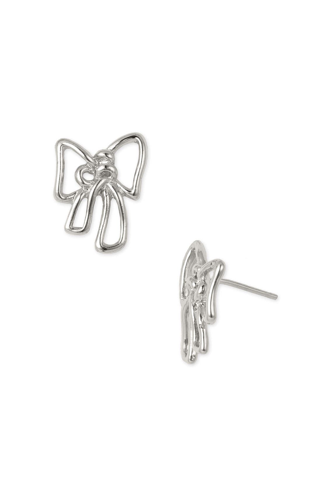 Alternate Image 1 Selected - MARC BY MARC JACOBS 'Classic Marc' Bow Stud Earrings