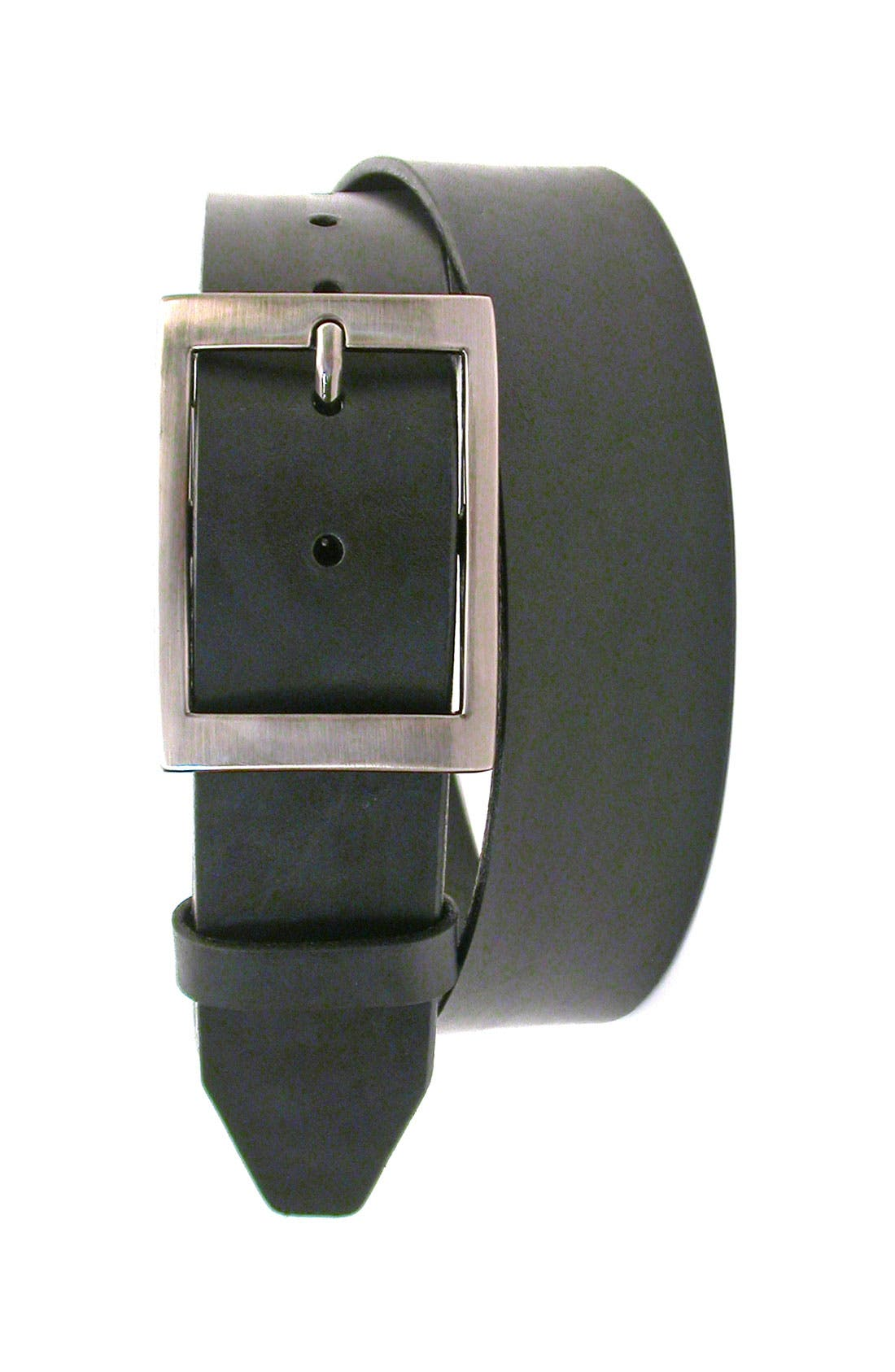 Main Image - Martin Dingman 'Matthew' Leather Belt