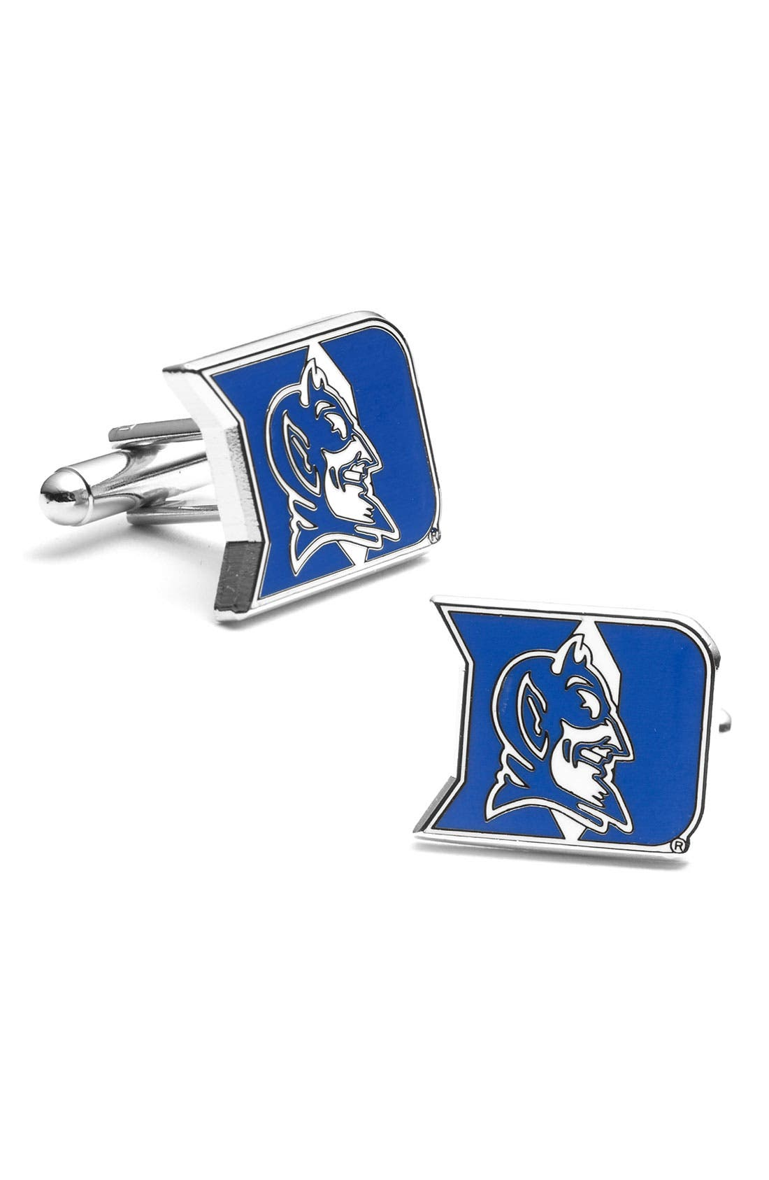 Main Image - Cufflinks, Inc. 'Duke Blue Devils' Cuff Links