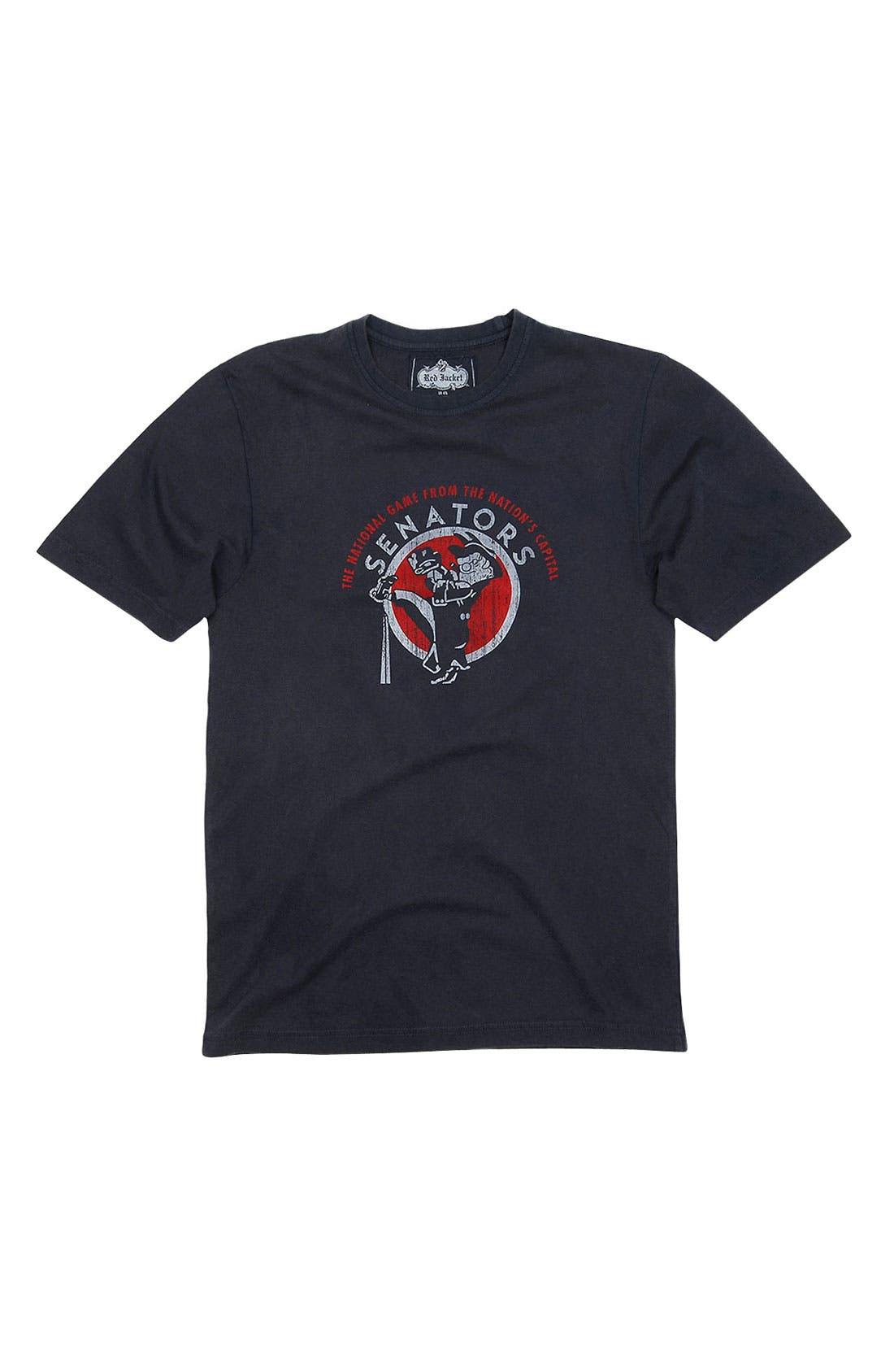 Alternate Image 1 Selected - Red Jacket 'Washington Senators' Trim Fit T-Shirt (Men)