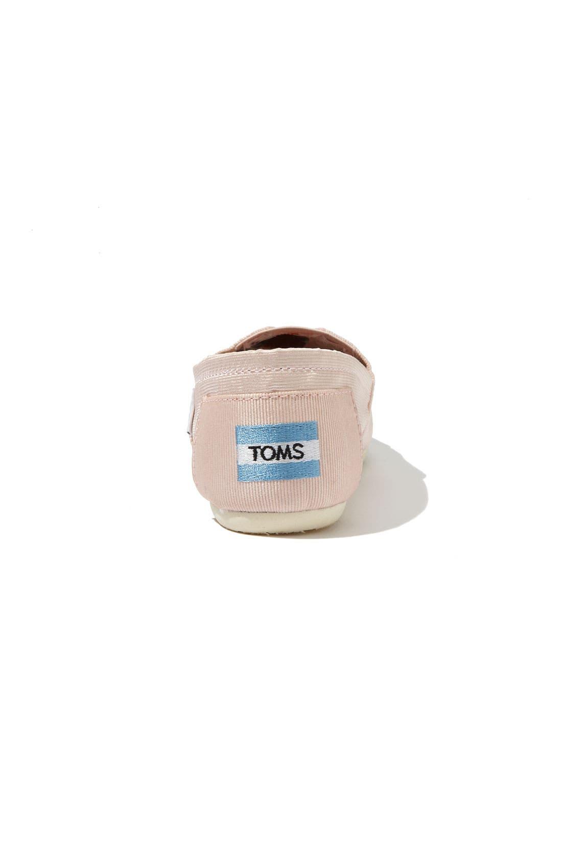 Alternate Image 4  - TOMS Grosgrain Ribbon Slip-On (Women)