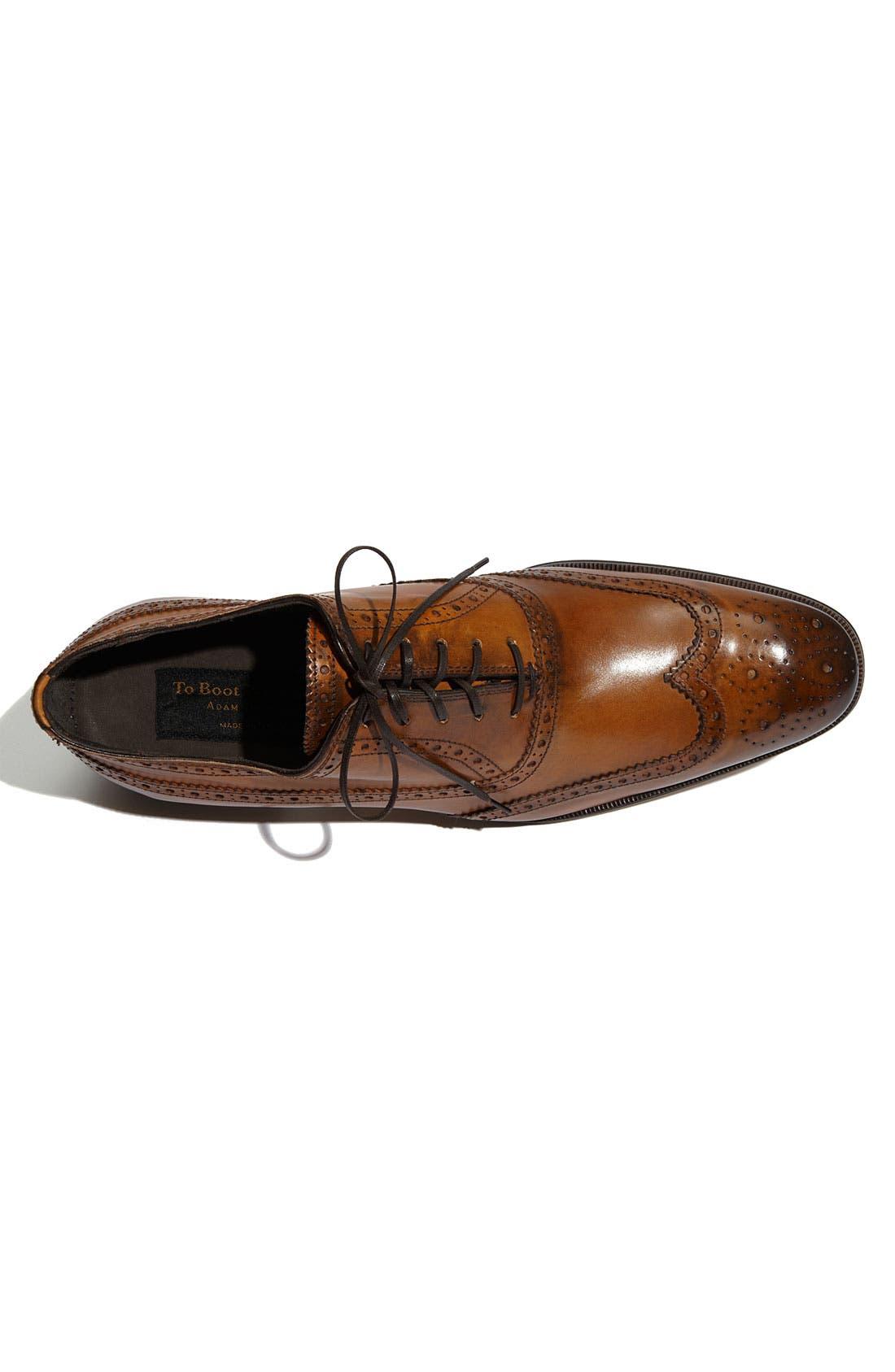 Alternate Image 3  - To Boot New York 'Windsor' Wingtip Oxford (Men)