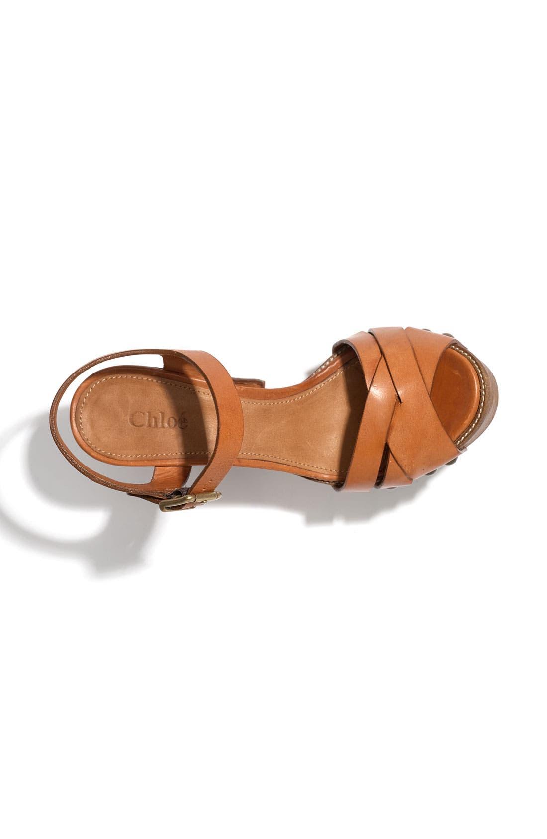 Alternate Image 3  - Chloé Platform Sandal