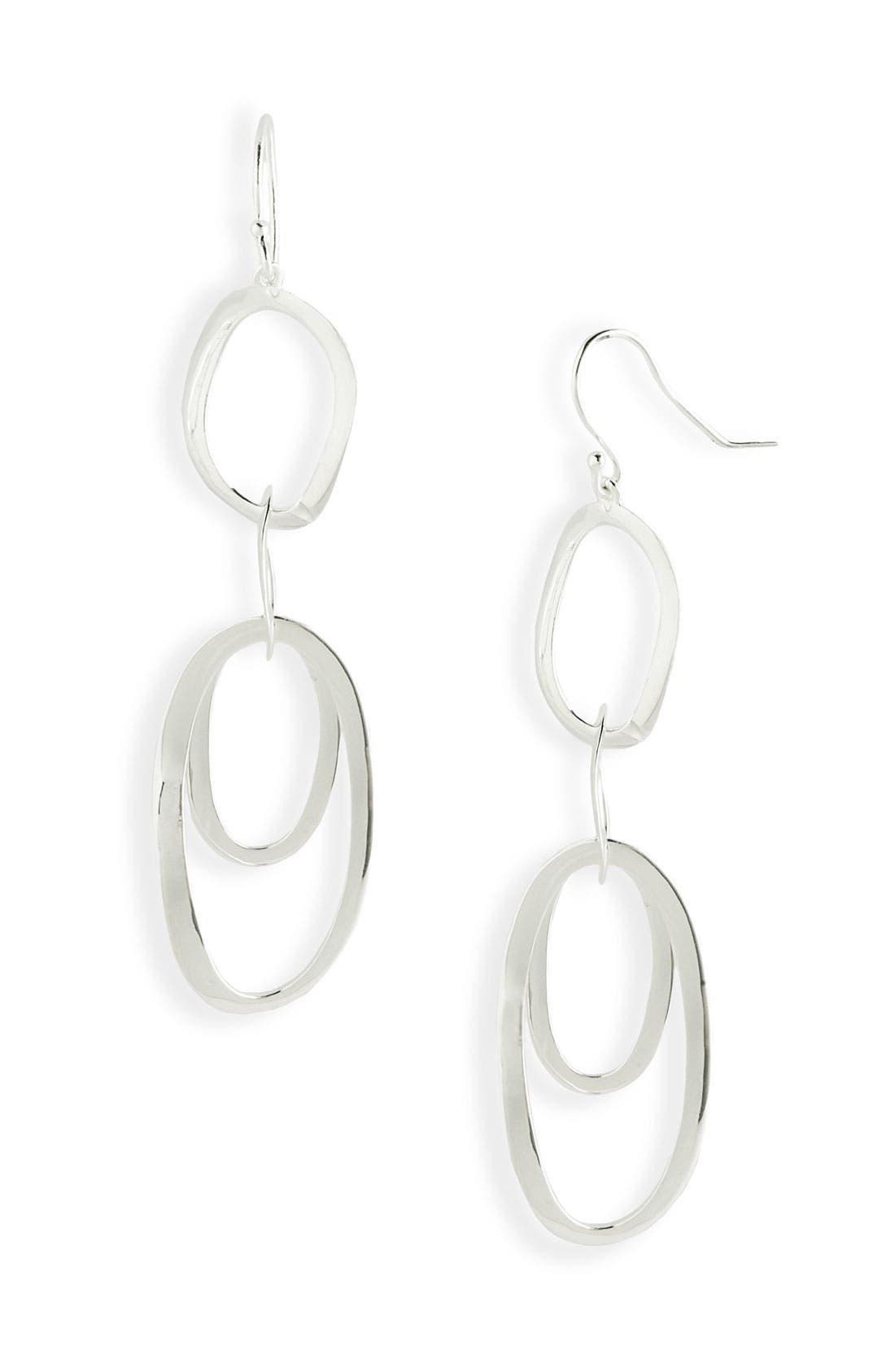 Alternate Image 1 Selected - Ippolita 'Scultura' Rosé Multi Oval Earrings