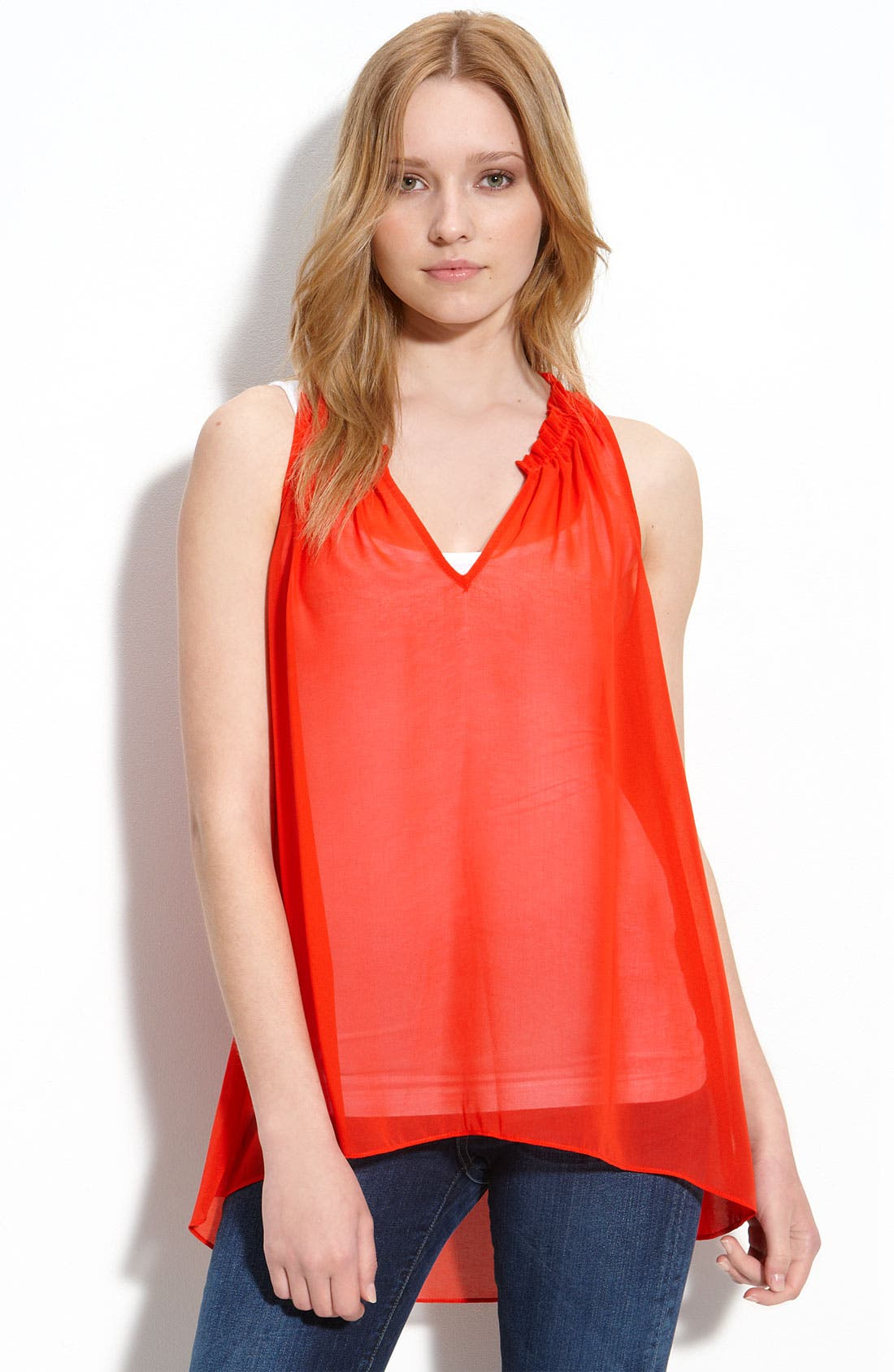 Alternate Image 1 Selected - Eight Sixty Sleeveless Top