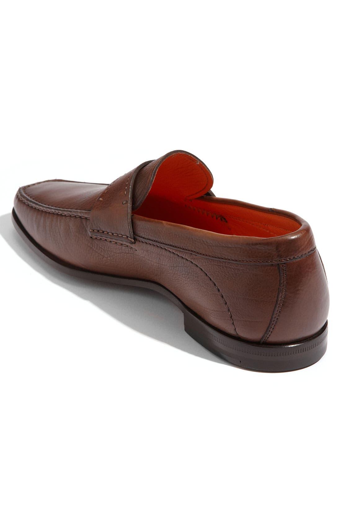 Alternate Image 2  - Santoni 'Quest' Loafer (Men)