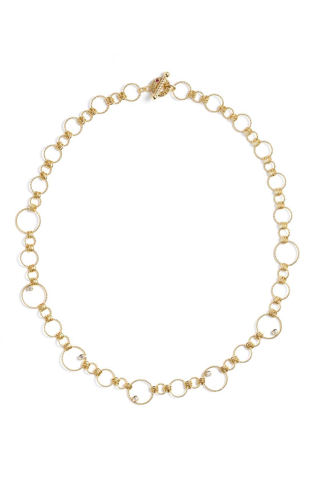 Alternate Image 2  - Roberto Coin 'Moresque' Diamond Necklace