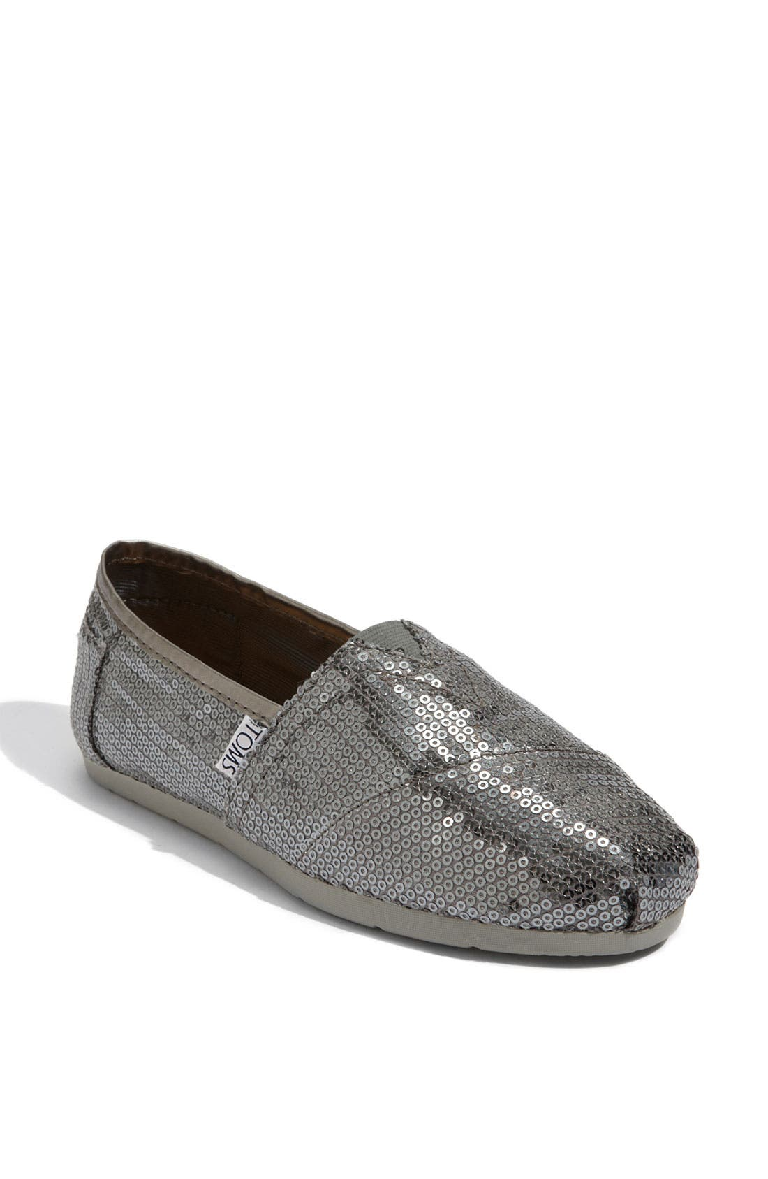 Alternate Image 1 Selected - TOMS 'Classic - Sequins' Slip-On (Women) (Nordstrom Exclusive)