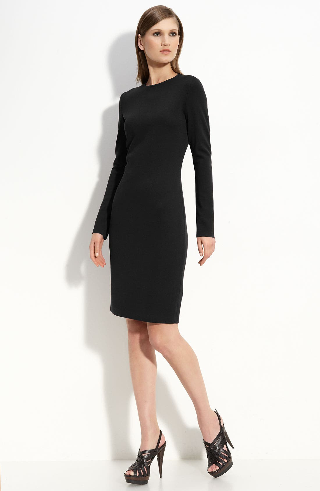 Main Image - St. John Collection Milano Knit Dress