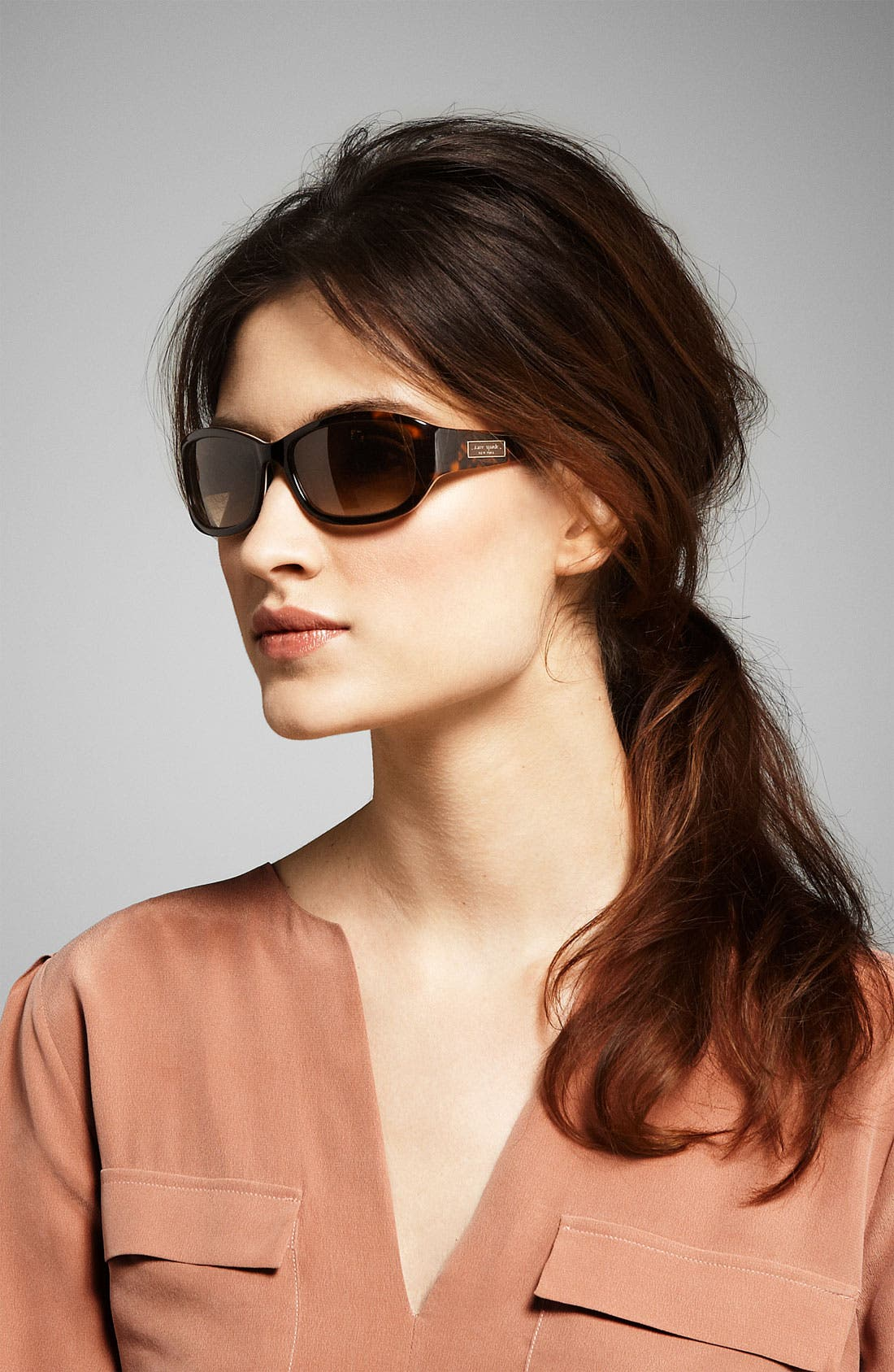 Alternate Image 2  - kate spade new york 'diana' 54mm sunglasses