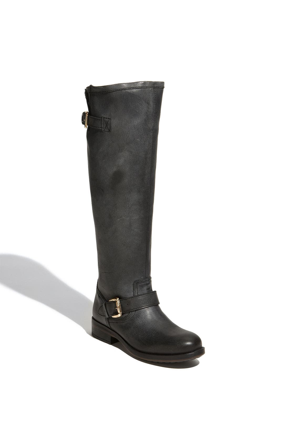 Main Image - Steve Madden 'Lindley' Contrast Zip Boot