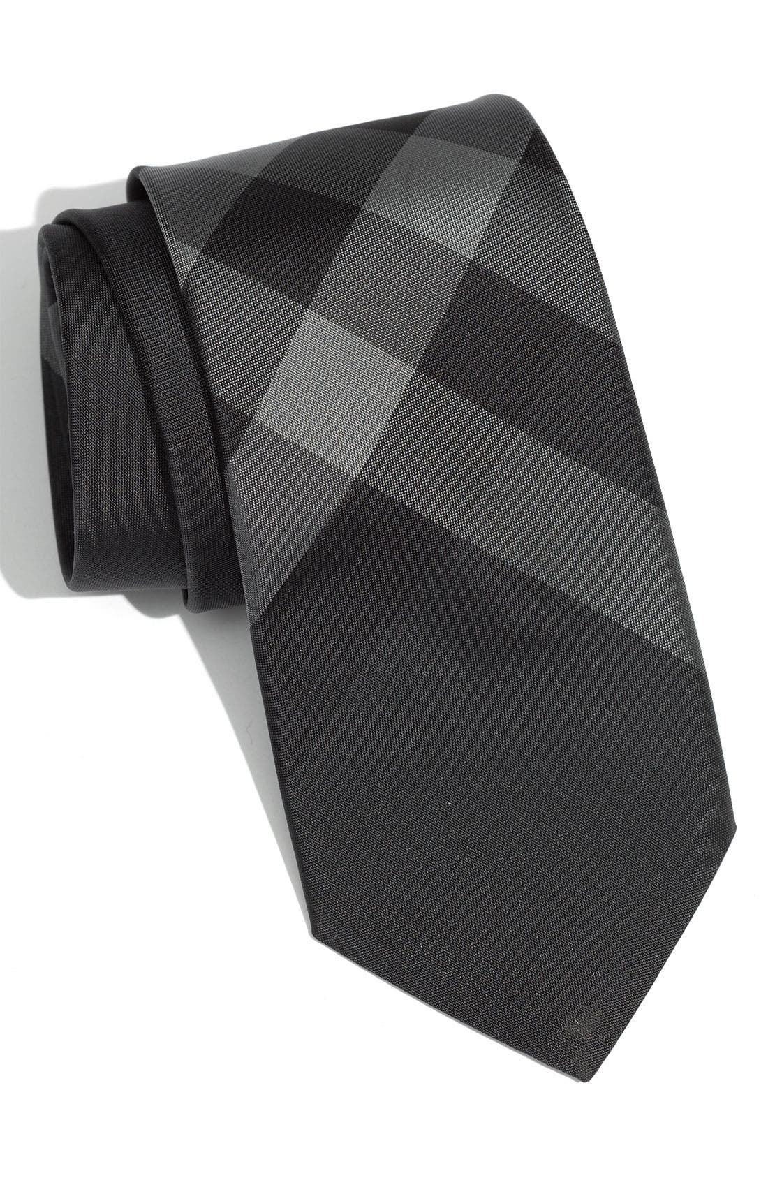 Alternate Image 1 Selected - Burberry London Check Silk Tie