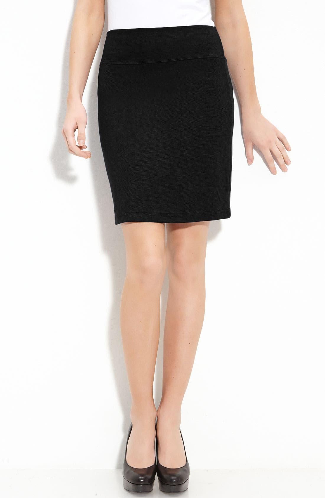 Main Image - Bobeau Knit Skirt