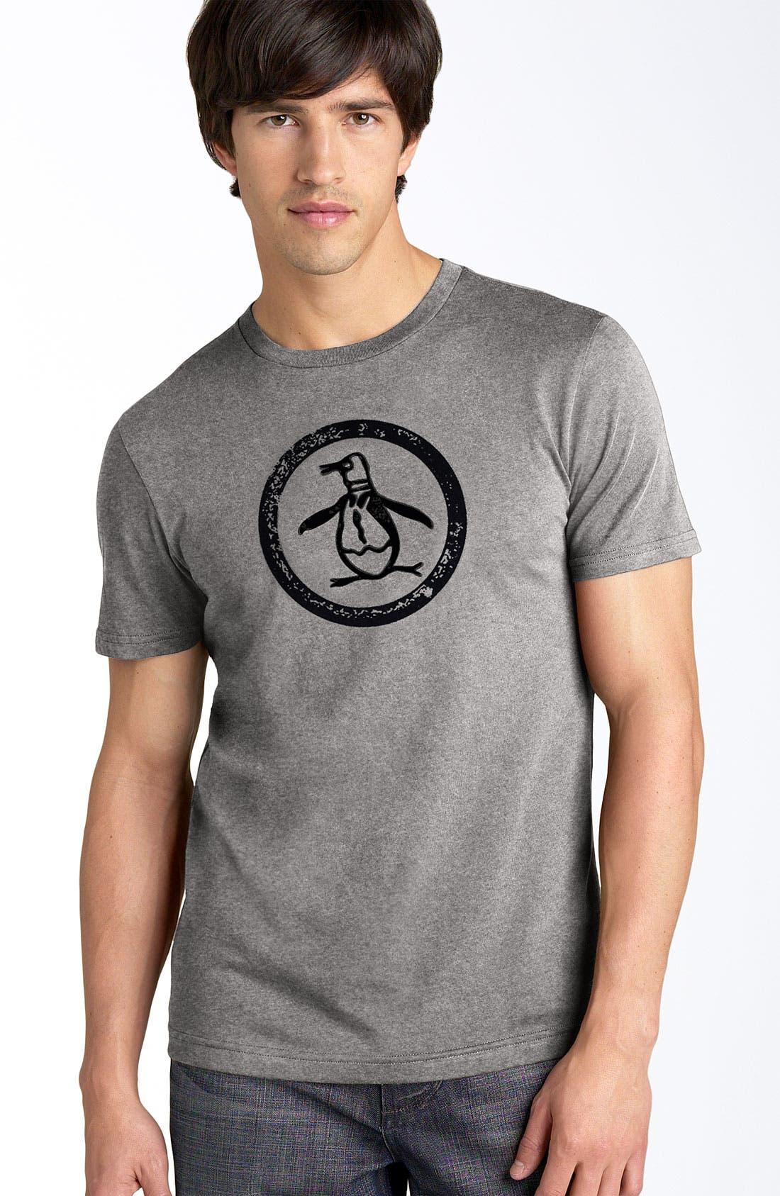 Main Image - Original Penguin Trim Fit Crewneck T-Shirt