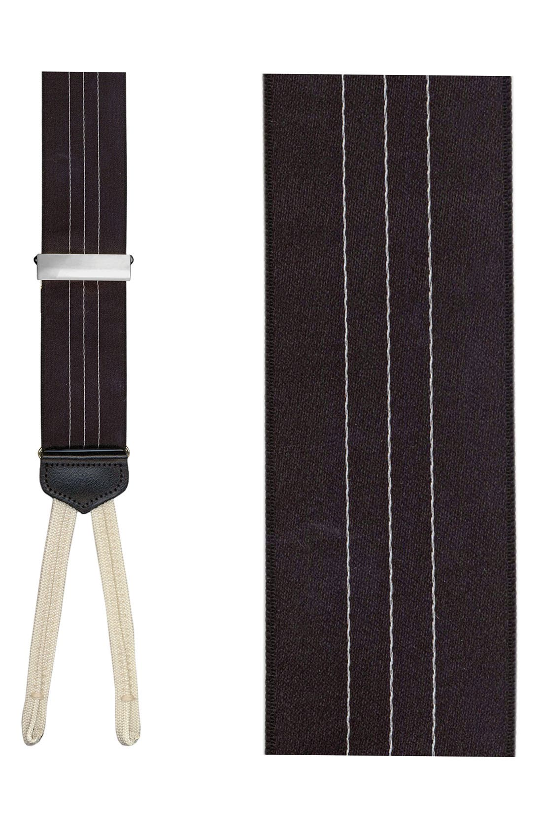 Main Image - Trafalgar 'Formal Ascot' Satin Suspenders