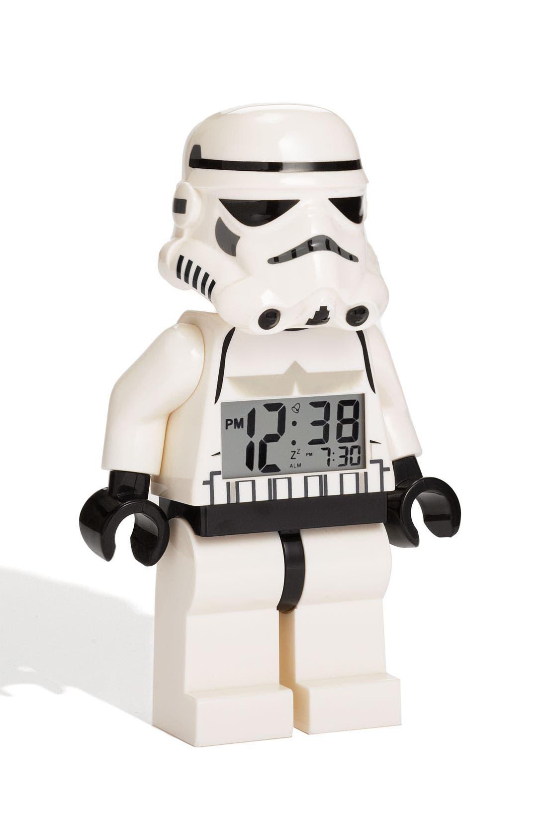 Alternate Image 1 Selected - LEGO® 'Star Wars™ - Stormtrooper' Alarm Clock