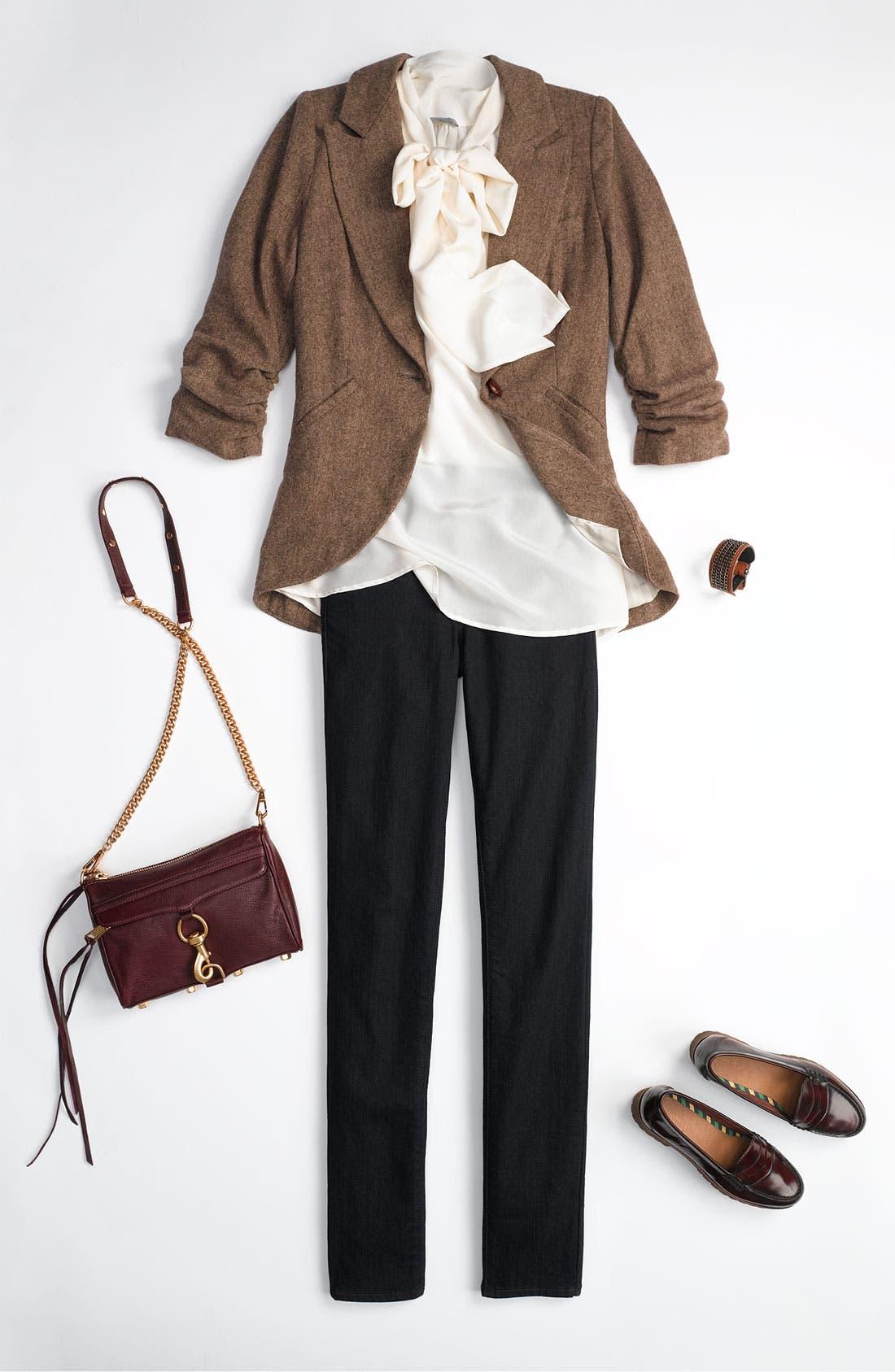 Alternate Image 5  - Gibson Tweed Riding Jacket