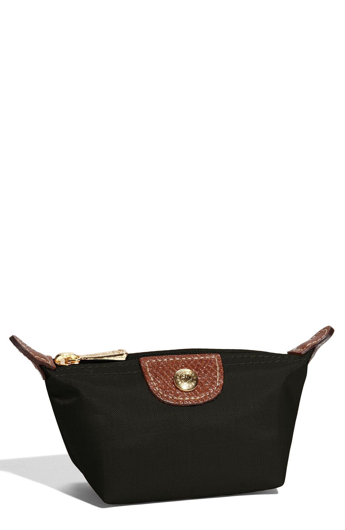Main Image - Longchamp 'Le Pliage' Coin Purse