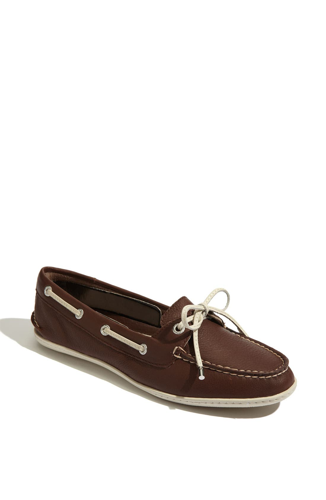 Alternate Image 1 Selected - Sperry Top-Sider® 'Montauk' Leather Boat Shoe