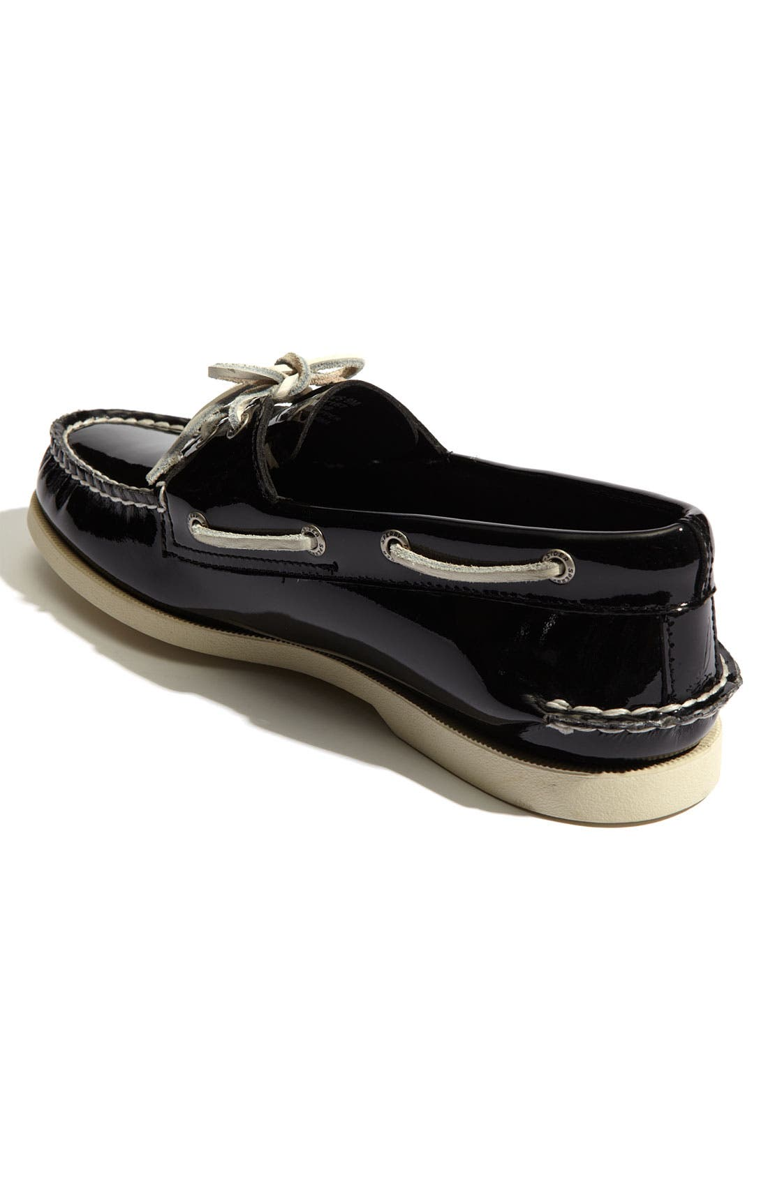 Alternate Image 2  - Sperry Top-Sider® 'Authentic Original' Patent Leather Boat Shoe