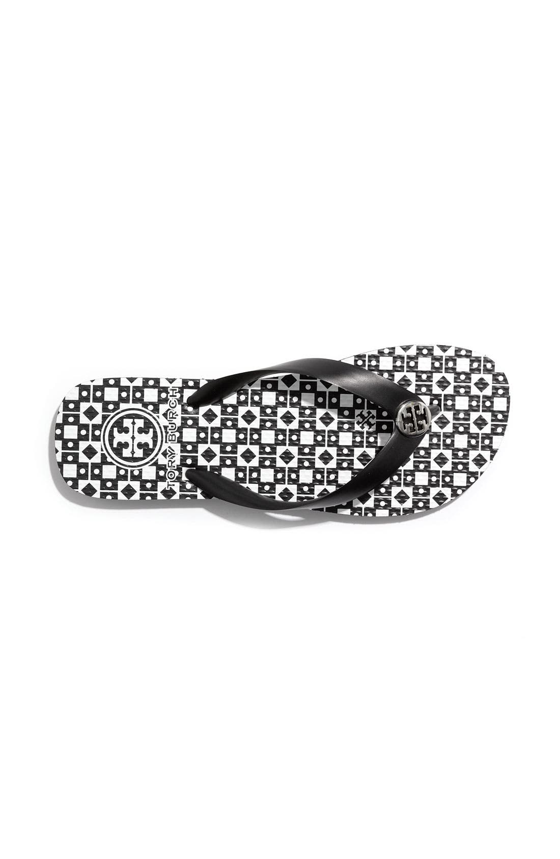 Alternate Image 3  - Tory Burch Enamel Logo Flip Flop