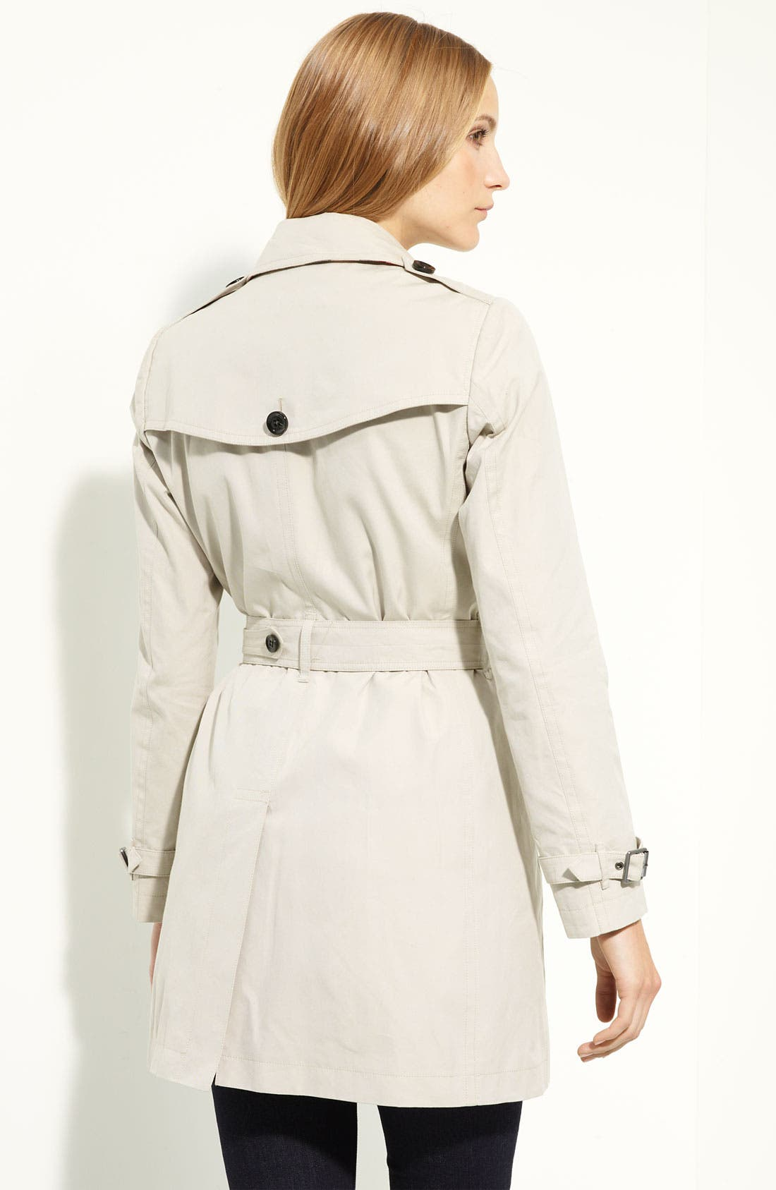 Alternate Image 3  - Burberry Brit 'Crombrook' Trench Coat