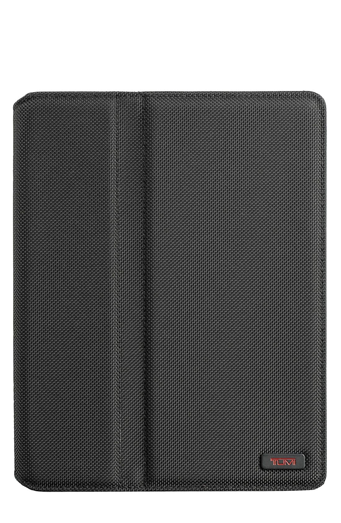 Ballistic Nylon iPad 2 Cover,                             Main thumbnail 1, color,                             Black