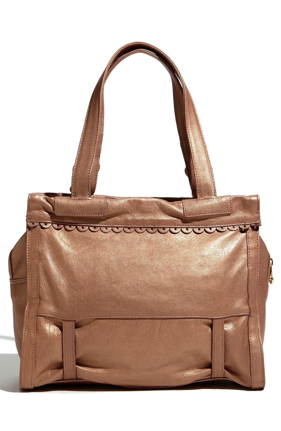 Alternate Image 4  - See By Chloé 'Poya Metallic Vintage' Leather Shoulder Bag