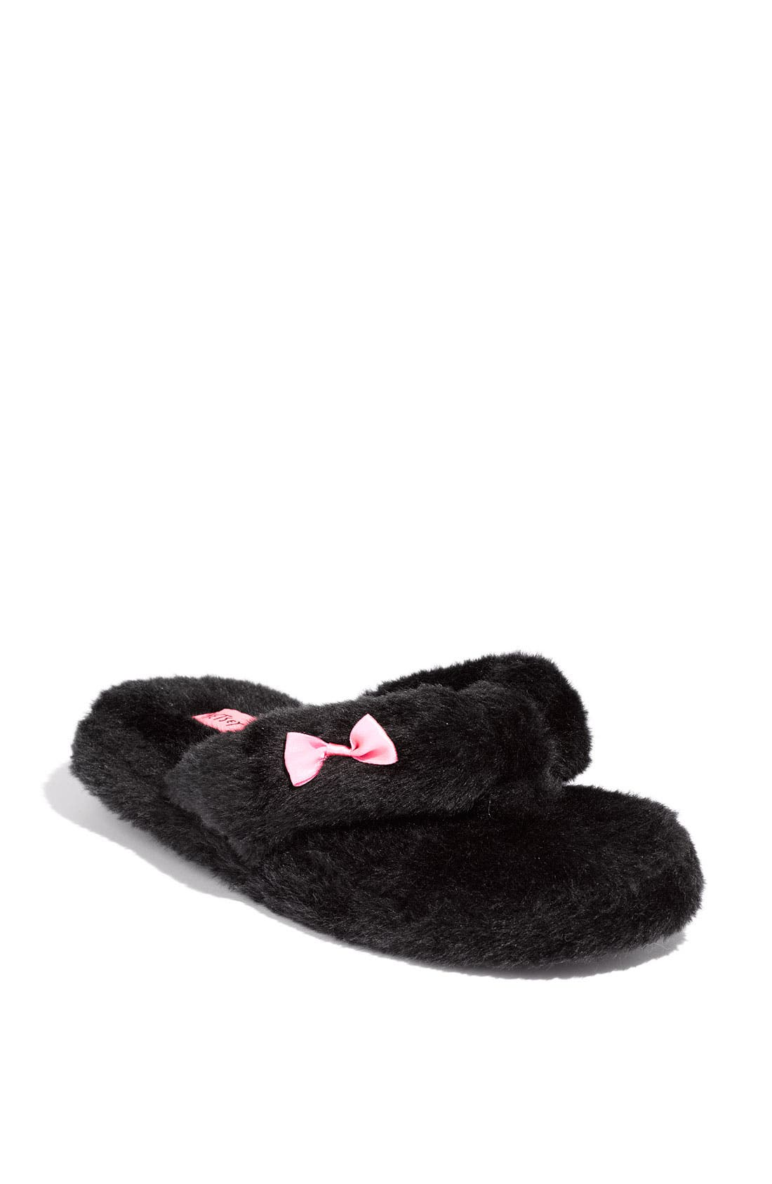 Main Image - Betsey Johnson Flip-Flop Slippers