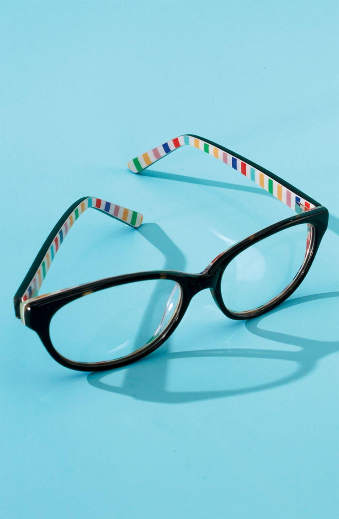 Alternate Image 2  - kate spade new york 'charity' reading glasses (2 for $88)