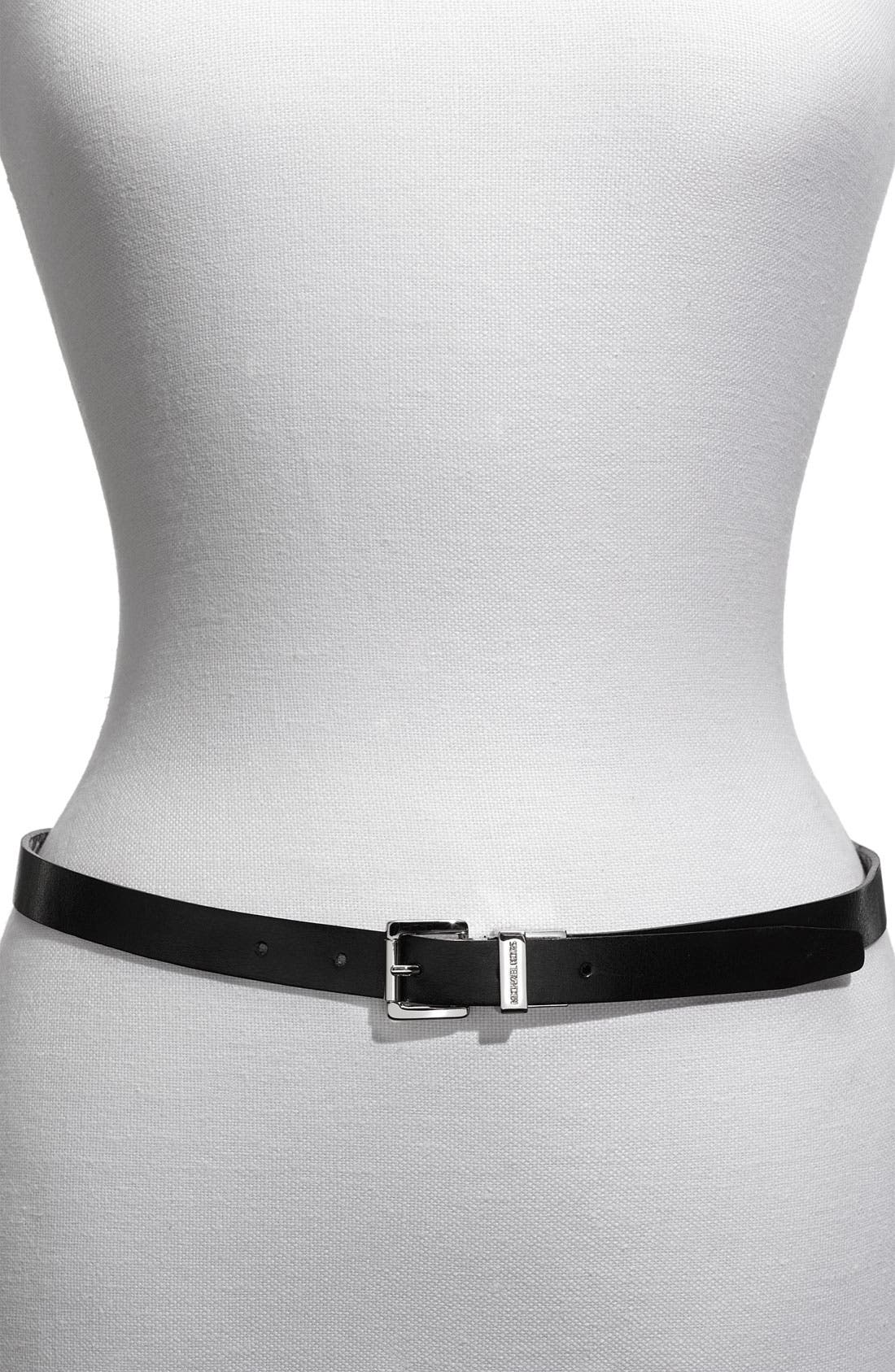 Alternate Image 2  - MICHAEL Michael Kors Reversible Belt