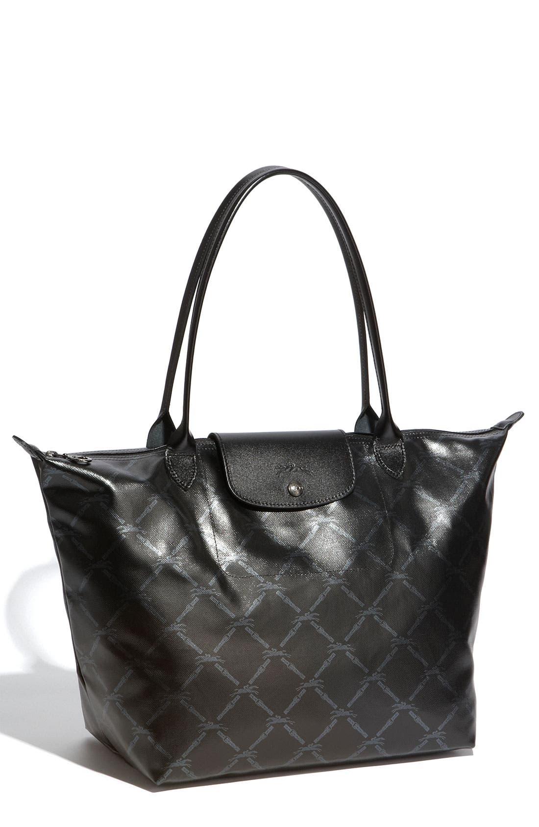 Main Image - Longchamp 'LM Metal' Shoulder Tote