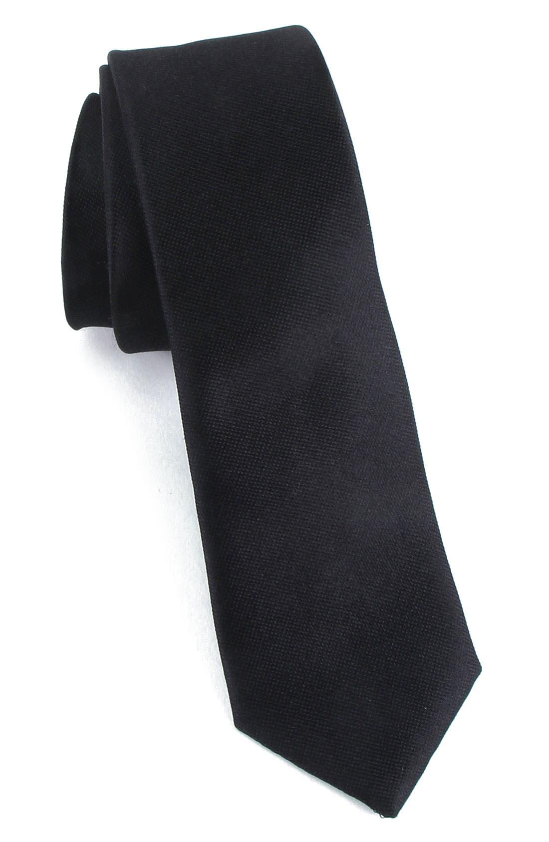 Main Image - Calibrate Skinny Silk Tie