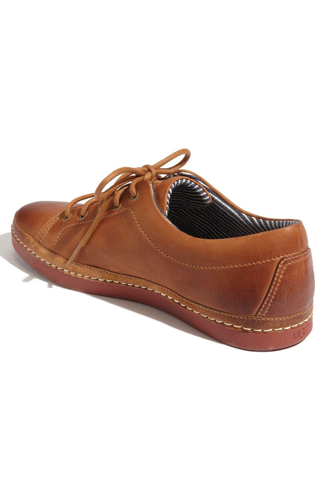 Alternate Image 2  - UGG® Australia 'Duncan Bay' Leather Sneaker (Men)
