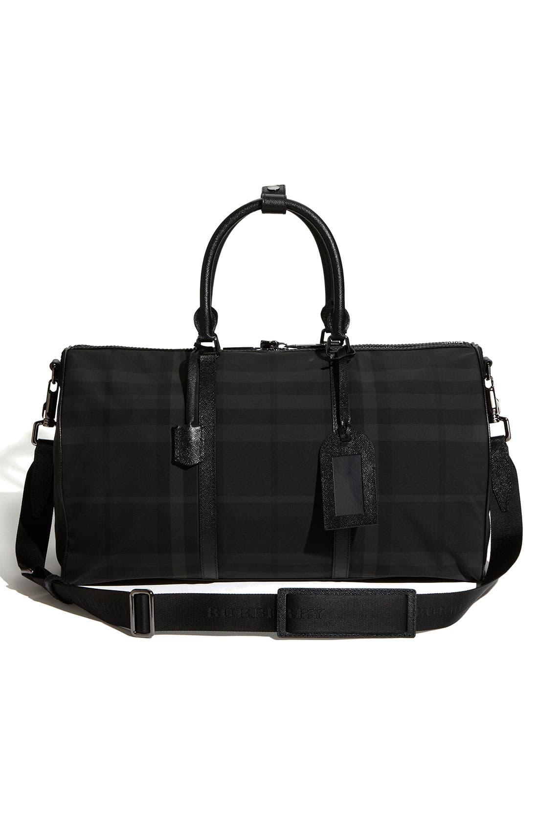 Alternate Image 4  - Burberry Duffel Bag