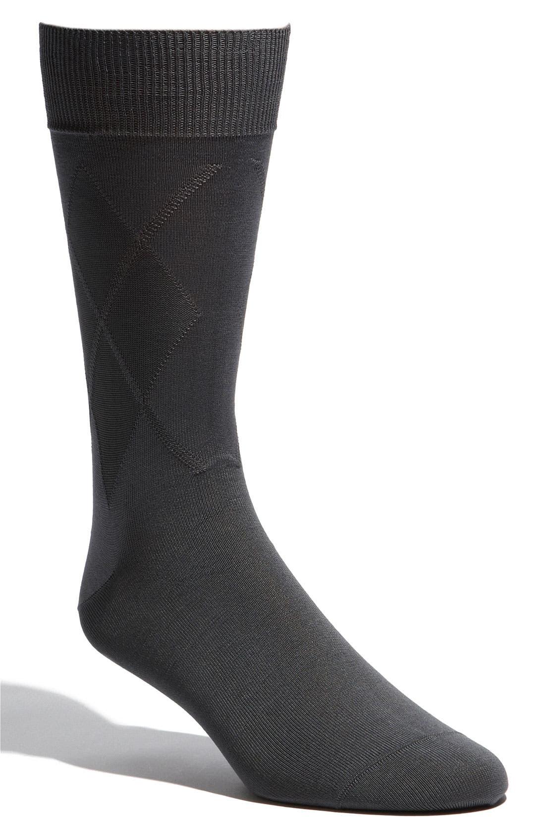 Alternate Image 1 Selected - Bugatchi Uomo 'Basic' Socks
