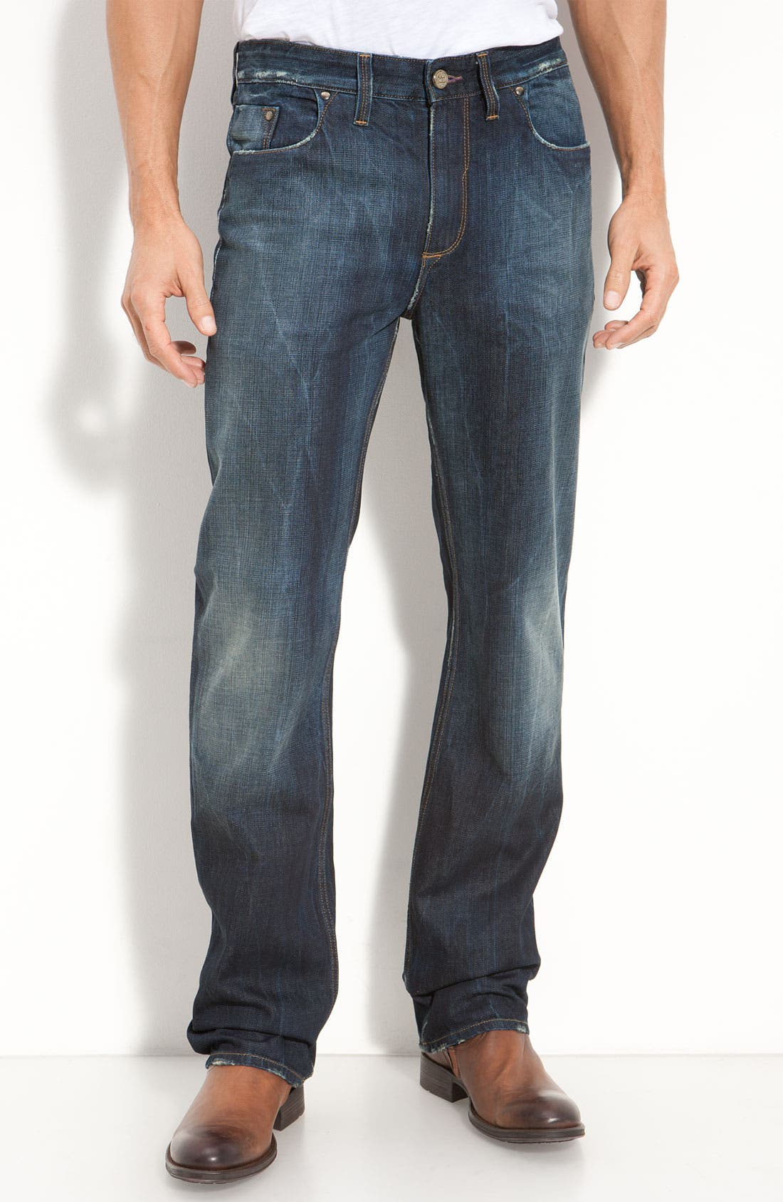 Main Image - Robert Graham Jeans 'Yates' Classic Fit Jeans (Atlantic)