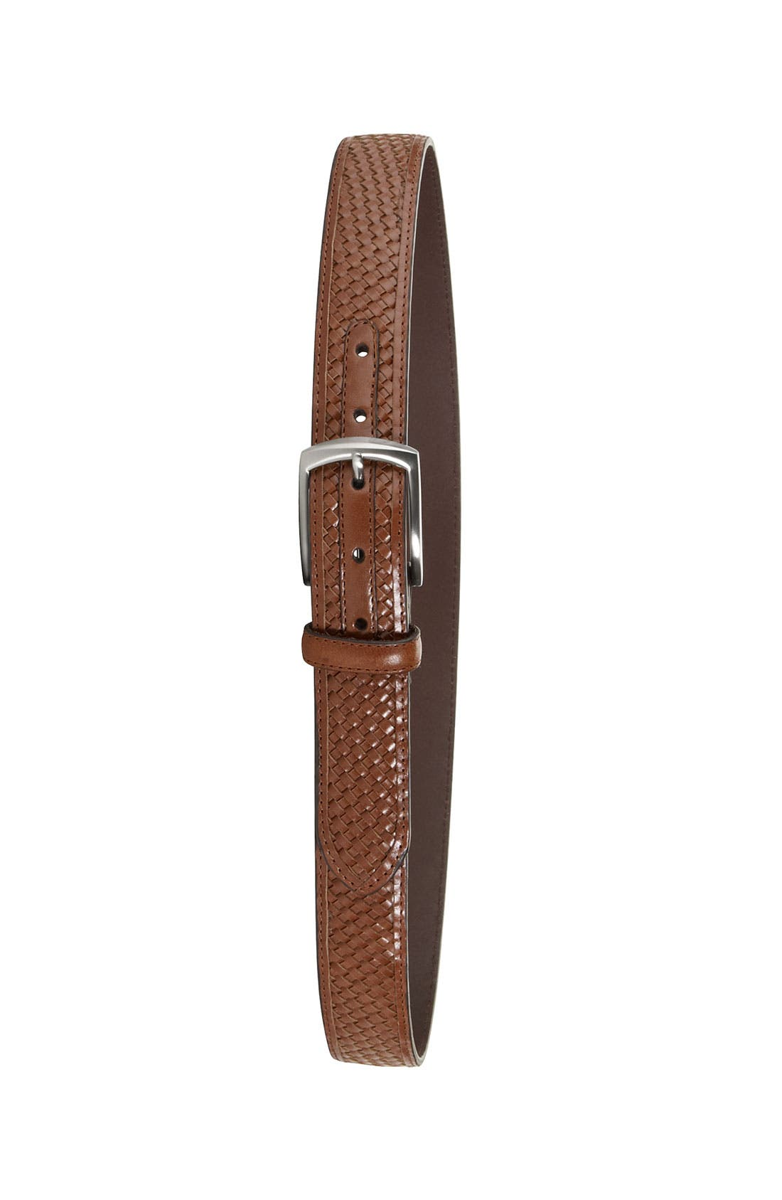Alternate Image 3  - Cole Haan 'Kerry' Woven Leather Belt