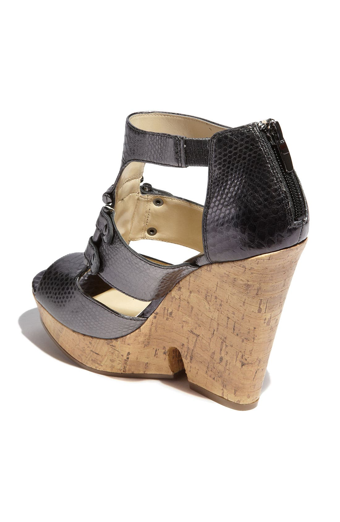 Alternate Image 2  - Enzo Angiolini 'Dossil' Wedge Sandal