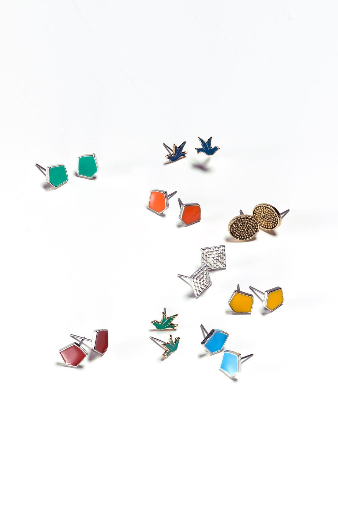 Alternate Image 2  - Rachel Sparrow Stud Earrings