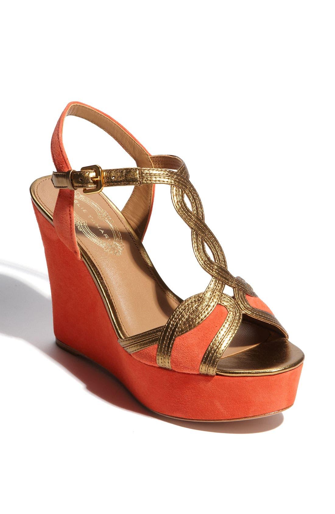 Alternate Image 1 Selected - Elie Tahari 'Lynette' Wedge Sandal