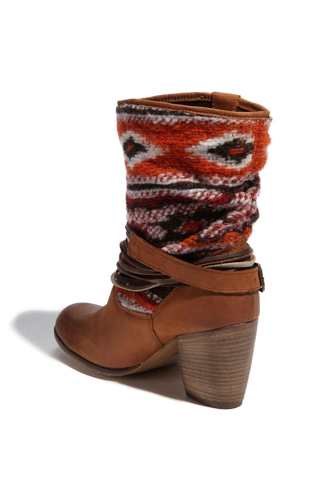 'Tolteca' Boot,                             Alternate thumbnail 2, color,                             Cognac Leather