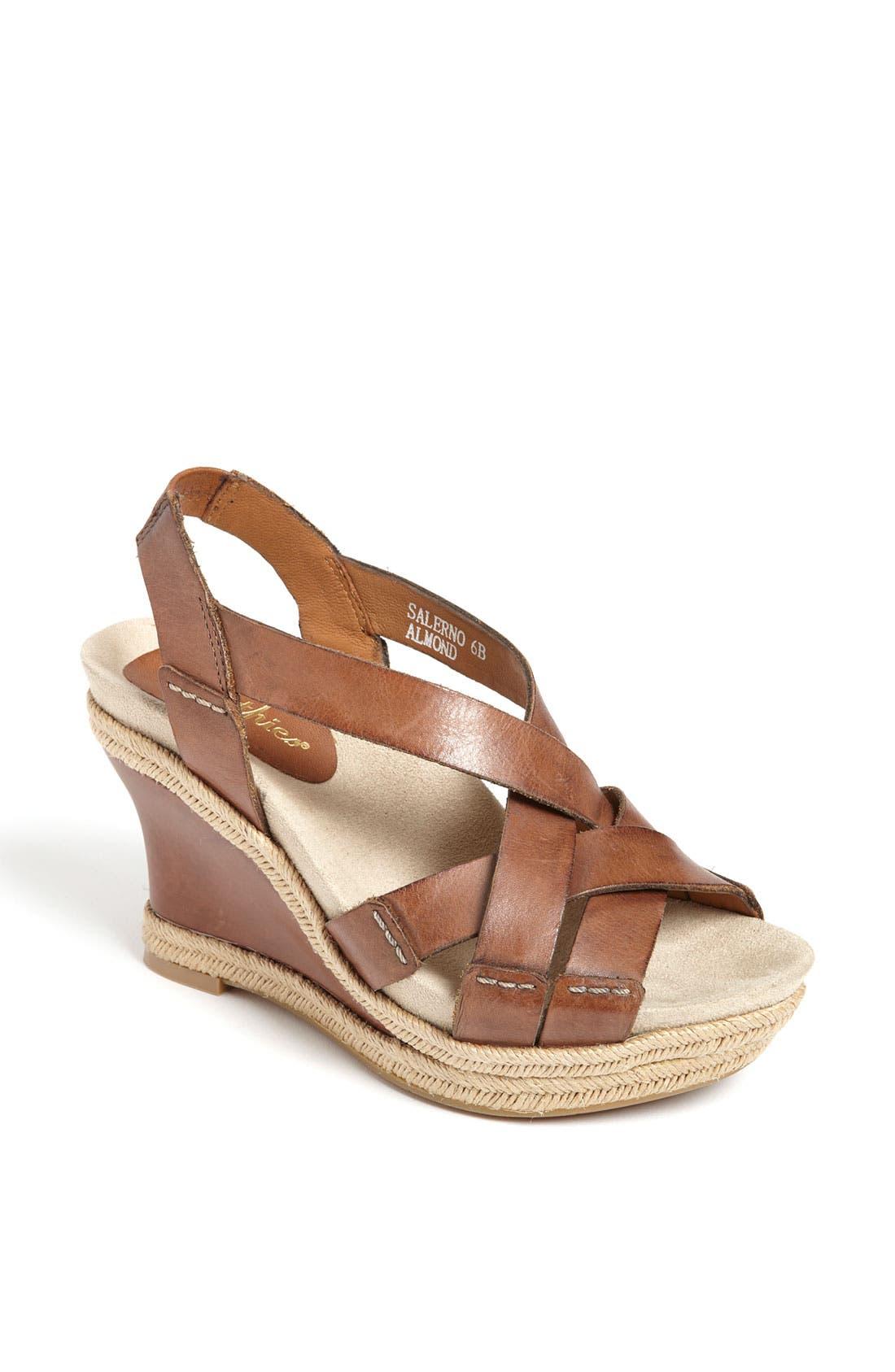 Alternate Image 1 Selected - Earthies® 'Salerno' Wedge Sandal