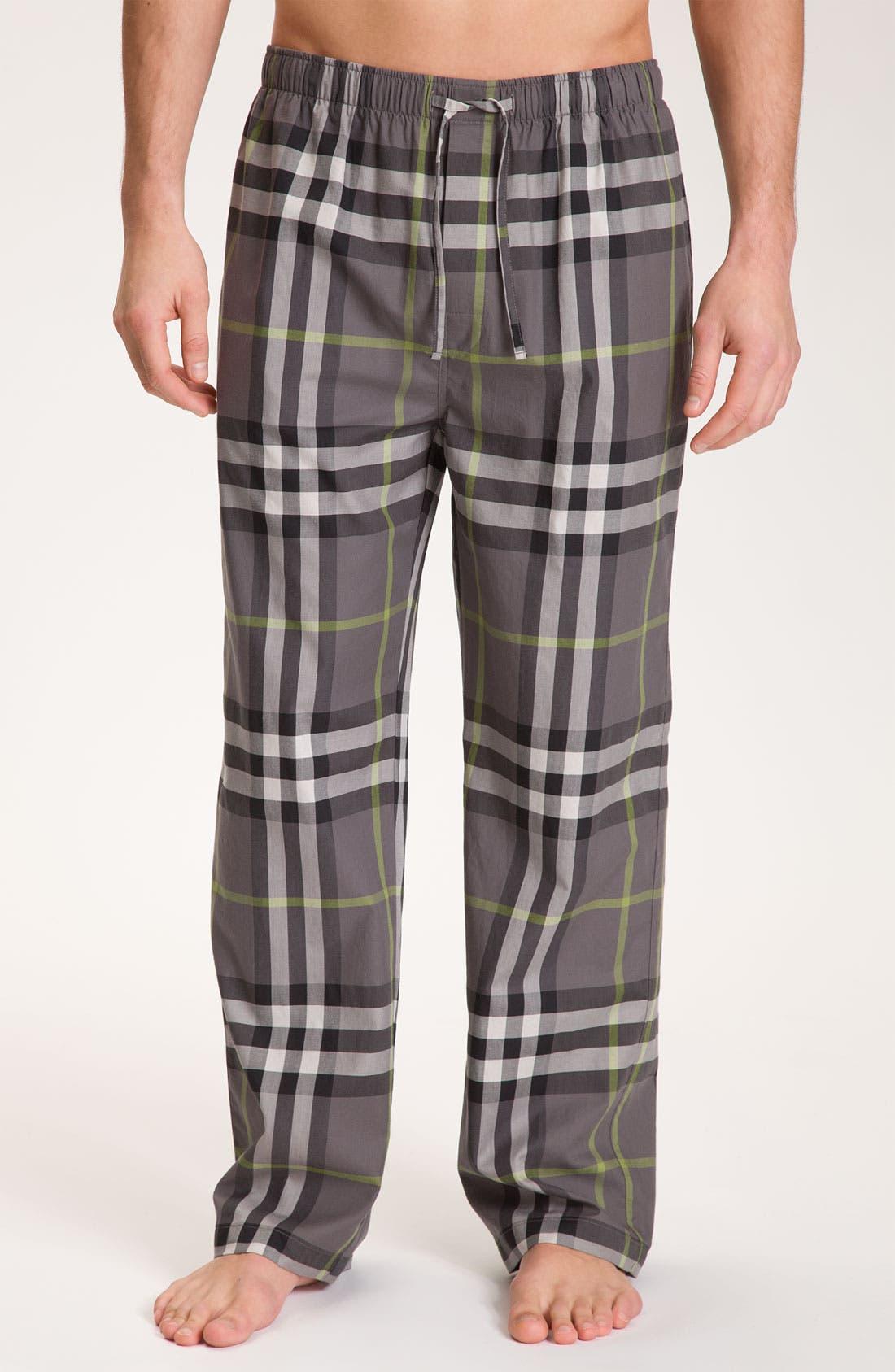 Main Image - Burberry London Check Print Pajama Pants
