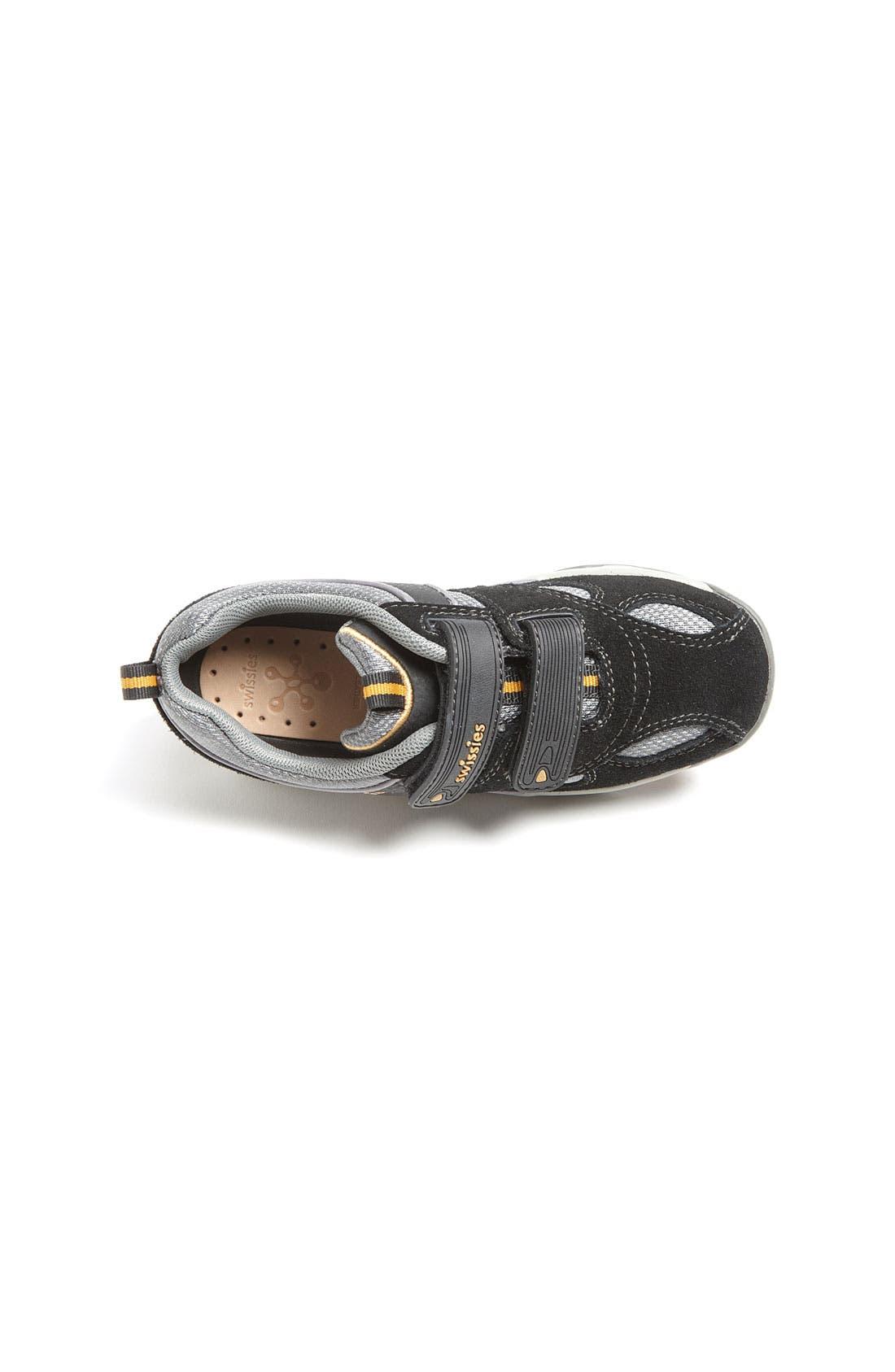 Alternate Image 3  - Swissies 'Mark' Athletic Sneaker (Toddler, Little Kid & Big Kid)