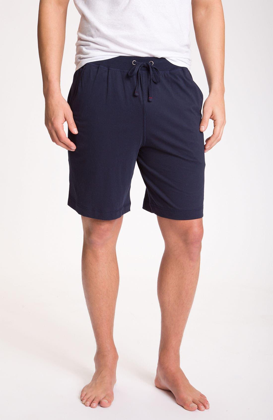 Alternate Image 1 Selected - Daniel Buchler Peruvian Pima Cotton Shorts