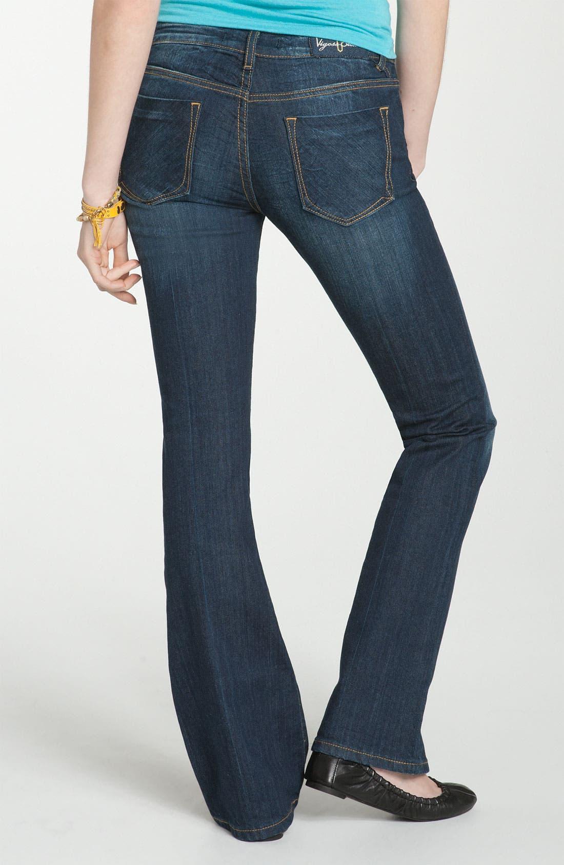 Alternate Image 1 Selected - Vigoss Bootcut Jeans (Juniors Regular & Long)