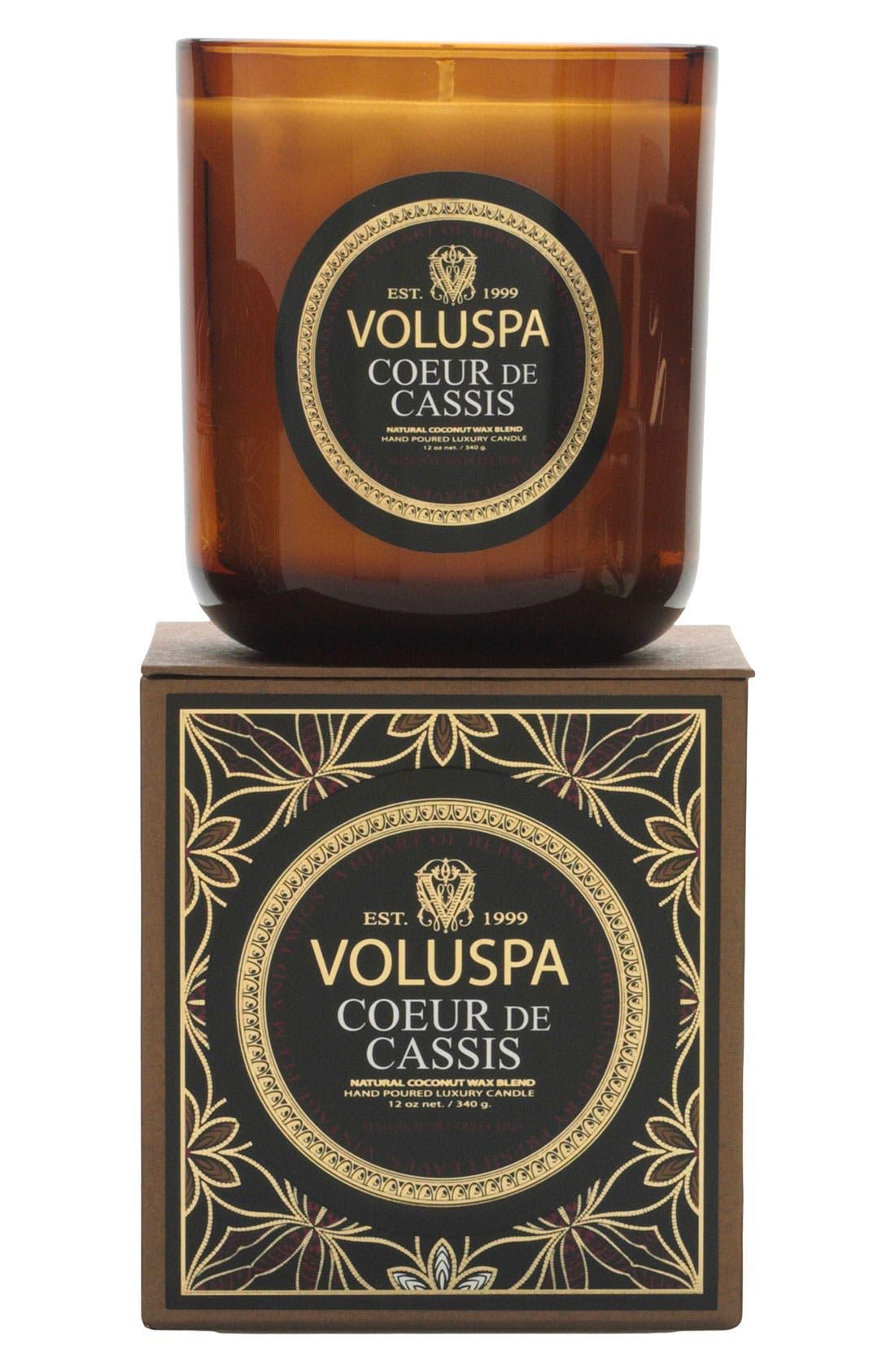 Main Image - Voluspa 'Maison d'Or - Coeur de Cassis' Scented Candle