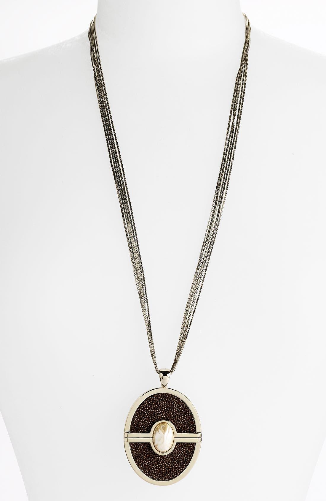 Main Image - St. John Collection Multi Chain Pendant Necklace