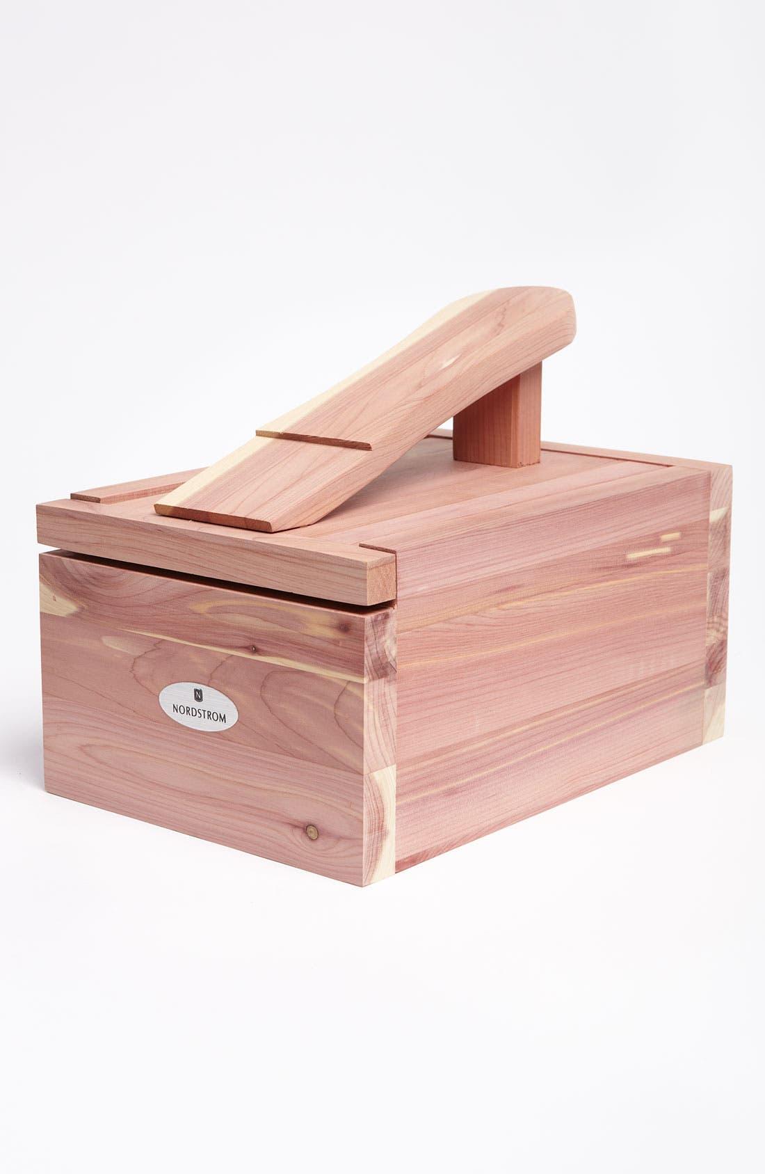 Main Image - Woodlore Cedar Shoe Care Valet with Starter Kit I